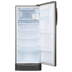 LG 235 L 5 Star Inverter Direct Cool Single Door Refrigerator inner