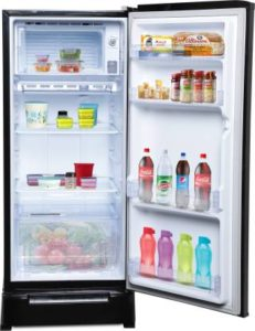 Whirlpool 190 L 3 Star Direct Cool Single Door Refrigerator inner