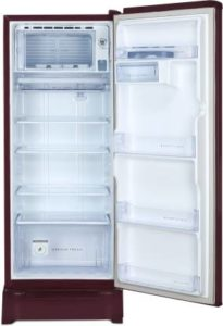 Whirlpool 215 L 4 Star Inverter Direct-Cool Single-Door Refrigerator inner