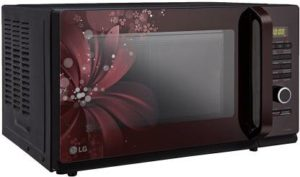 LG 32 L Convection Microwave Oven (MC3286BRUM, Black)-min
