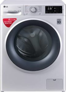 LG 6.5 kg Inverter Fully-Automatic Front Loading Washing Machine-min