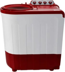 Whirlpool 7.5 kg Semi Automatic Top Load Red (Ace 7.5 Sup Soak (Coral Red) (5 yr))-min