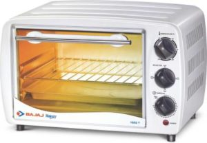 Bajaj Majesty 1603 T 16-Litre Oven Toaster Grill (White)-min