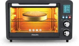 Philips HD69700 25-Litre Digital Oven Toaster Grill (Grey)-min