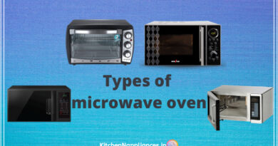 Types of microwave oven in India